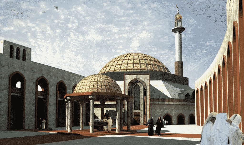 Dawhah watches Mosque Doha Qatar